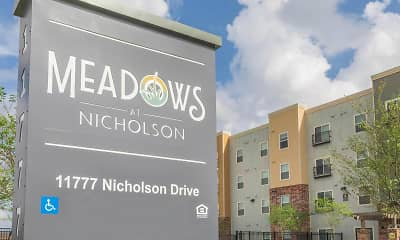 Community Signage, Meadows at Nicholson, 2