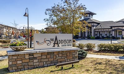 Community Signage, Addison at South Tryon, 0