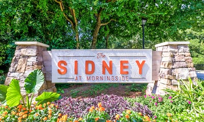 Community Signage, The Sidney at Morningside, 2