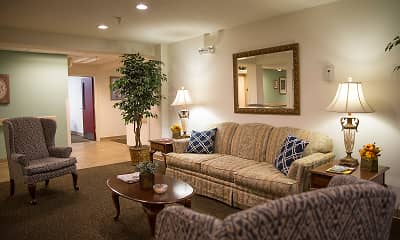 Living Room, Omni Park Place Senior Housing 55+, 2