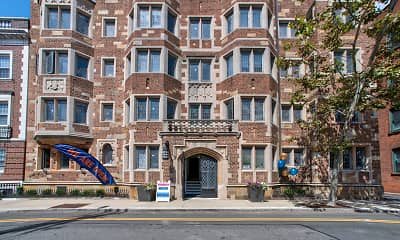 Building, Cambridge Oxford Apartments, 1