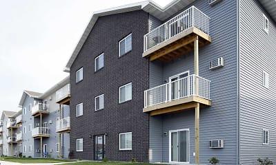 Building, The Cascades Apartments, 2