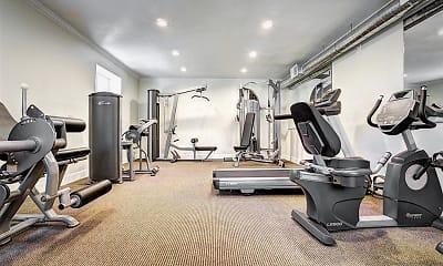 Fitness Weight Room, Pointe Vista, 2