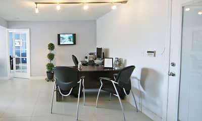 Dining Room, Rue Granville Apartments, 2