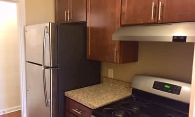 Kitchen, Eden Cliff Apartments, 0