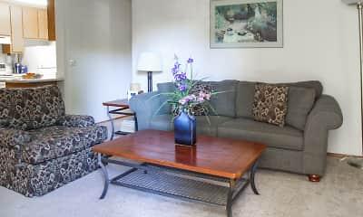 Living Room, Austin Commons, 1