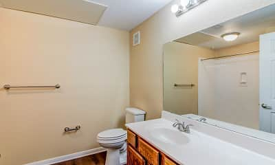 Bathroom, Legacy Senior Housing, 2