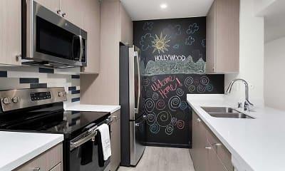 Kitchen, AVA Toluca Hills, 1