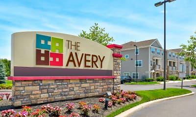 Community Signage, The Avery, 2