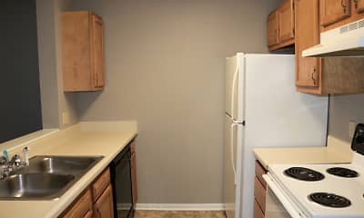 Kitchen, Avery Place Apartments, 1