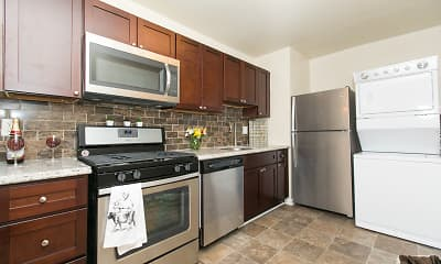 Kitchen, Quail Hollow Apartment Homes, 0