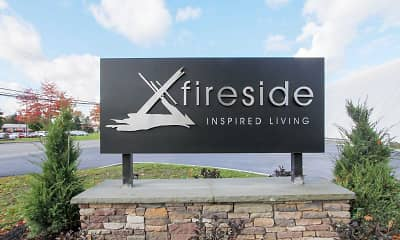 Community Signage, Fireside Apartments, 2