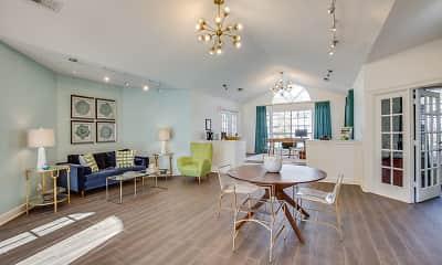 Living Room, Magnolia Pointe at Madison, 1