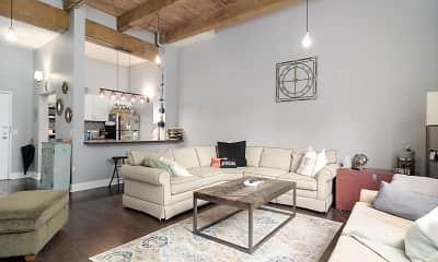 Living Room, 215 5th Street NE, 2