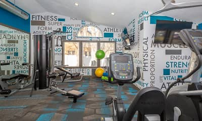 Fitness Weight Room, Candlestick Lane, 2
