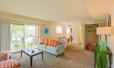 Living Room, Taylor Gardens, 0