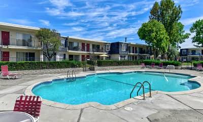 Pool, Normandy Park Apartments, 0
