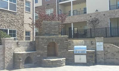 Courtyard, Arbors At Fort Mill Apartments, 2