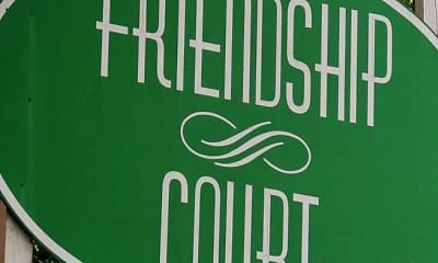 Community Signage, Friendship Court, 2