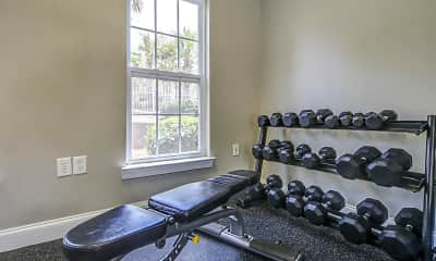 Fitness Weight Room, 34 Crestmont, 2
