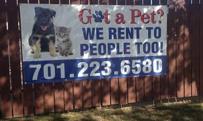 Community Signage, Capitol Apartments, 0