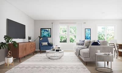 Living Room, Abode at Geneva, 1