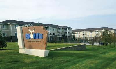 Building, Elk Hills Apartments, 0