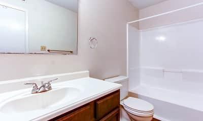 Bathroom, Treehaven, 2