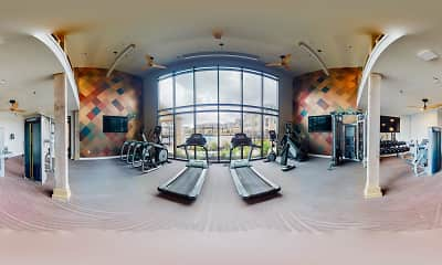 Fitness Weight Room, Edge & Stone, 2