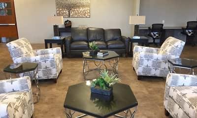 Living Room, Dunbar Commons - 62+ Senior Community, 2