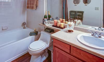 Bathroom, Riverview Villa, 2