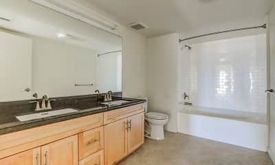 Bathroom, The Mayfair Residences at Santa Monica Beach, 2