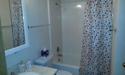 Bathroom, The Meadows Apartments, 2