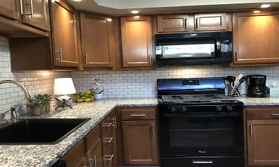 Kitchen, Winston Square Apartments, 0