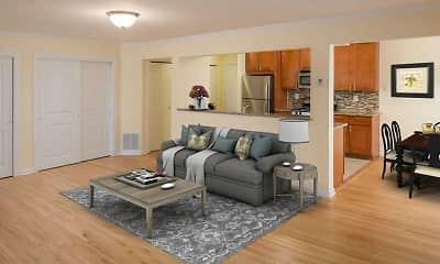 Living Room, The Villas, 1