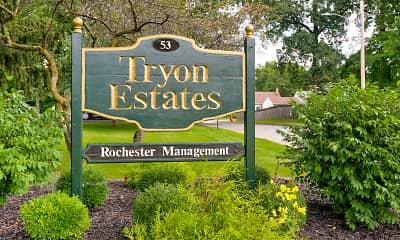 Community Signage, Tryon Estates, 2