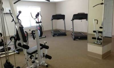 Fitness Weight Room, Monarch Crossing, 1