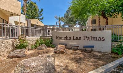 Community Signage, Rancho Las Palmas, 2