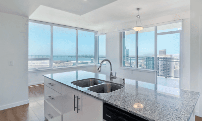 Kitchen, The Broadway Towers, 0