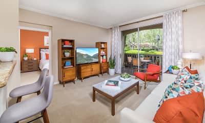 Living Room, Arcadia At Stonecrest Village, 0