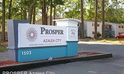 Community Signage, PROSPER Azalea City, 1