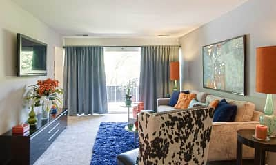 Living Room, Avery Park Apartment Homes, 1
