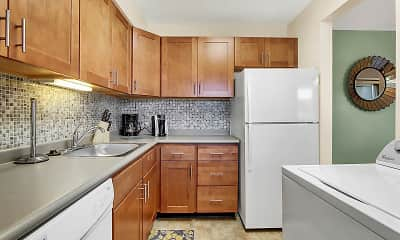 Kitchen, Manor House Apartments, 0