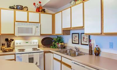 Kitchen, Liberty Hill, 1
