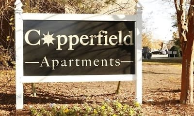Community Signage, Copperfield Apartments, 2