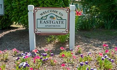 Community Signage, East Gate Apartments, 1