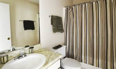 Bathroom, Post Ridge, 2