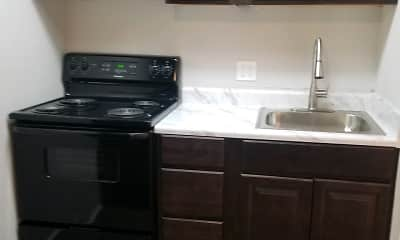 Kitchen, Davis Gardens, 2