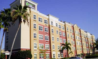 Building, Furnished Studio - Miami - Airport - Doral - 25th Street, 0