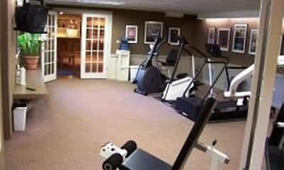 Fitness Weight Room, Shore Acres on the Monon Apartments, 2